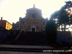medieval monasteries of Italy. Praglia Abbey