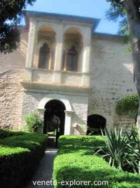Veneto Italy, Petrarca house