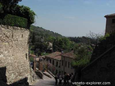 holiday in Veneto. Arquà Petrarca