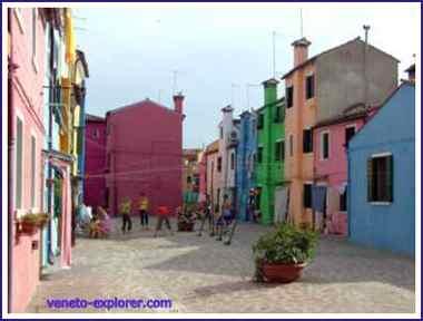 Venice Italy. Burano