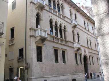 Venetian gothic. Vicenza Italy
