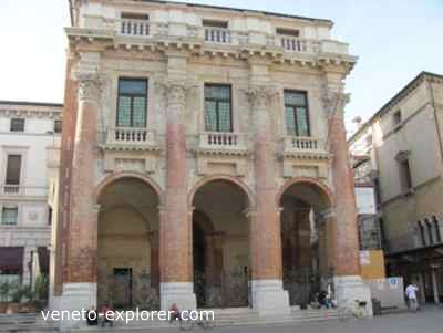 The Palladio Architecture Heritage In The Veneto Town Of