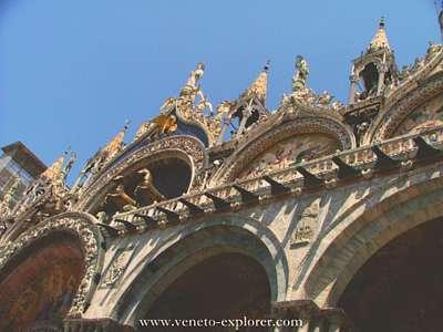 basilica di san marco venezia venice venecia. Golden horses