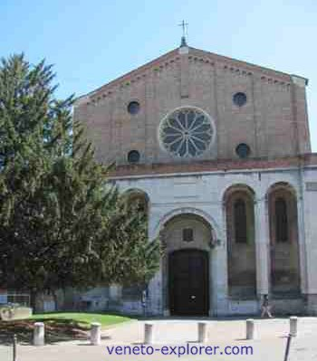 Padua Italy, Eremitani Church