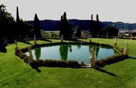 Renaissance villas Veneto Italy