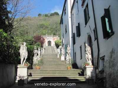 Villas of veneto Italy. Villa Nani Mocenigo