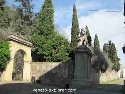 Villa Nani Mocenigo, Monselice, veneto, italy