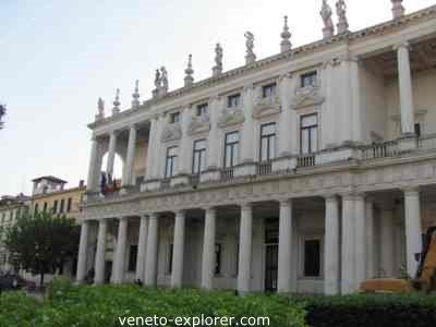 palladio architecture vicenza, palazzo chiericati