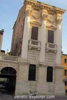 palladio architecture, palazzo porto breganze
