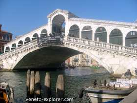 Venice Italy. Rialto Bridge