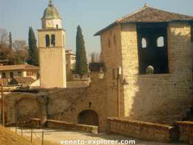 medieval towns and villages. Asolo Italy