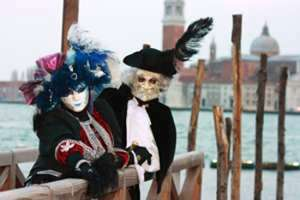 history of venetian masks