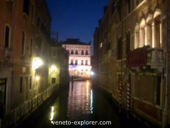 Venice Italy by night