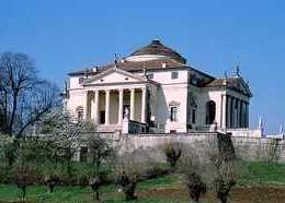Palladian architecture. Villa La Rotonda. Vicenza, Italy