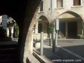 medieval towns and villages of Italy. Asolo Italy